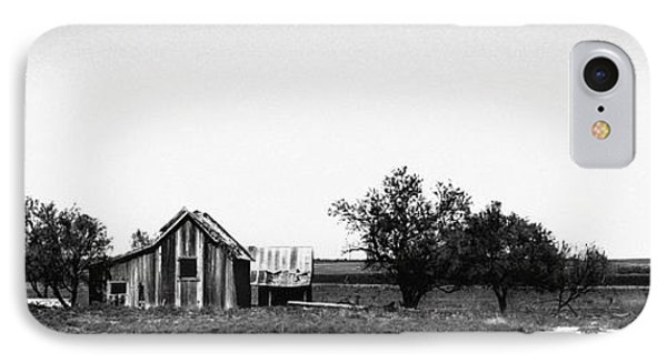 Remnants Of The Dust Bowl IPhone Case by Lon Casler Bixby