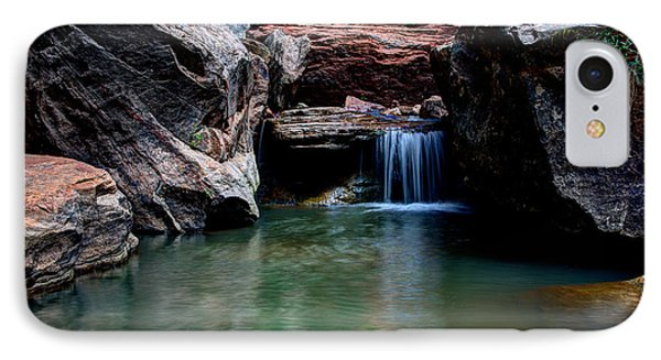 Remote Falls Phone Case by Chad Dutson