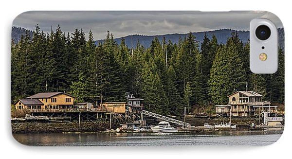 Remote Southeast Alaska IPhone Case by Timothy Latta