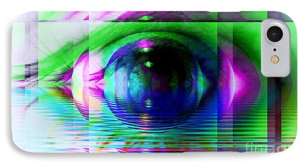 Remote Viewing Phone Case by Elizabeth McTaggart