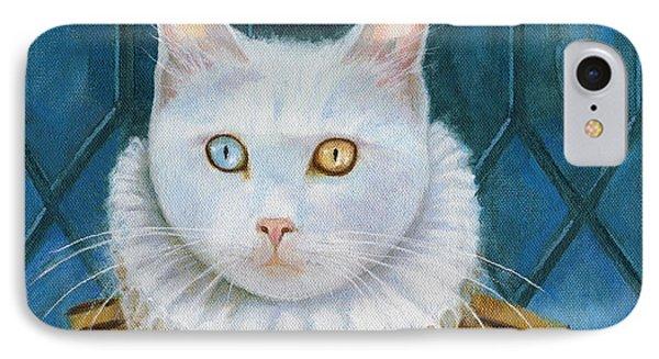 Renaissance Cat IPhone Case by Terry Webb Harshman
