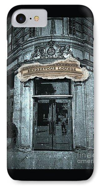 IPhone Case featuring the photograph Rendezvous Lounge - Lancaster Pa. by Joseph J Stevens