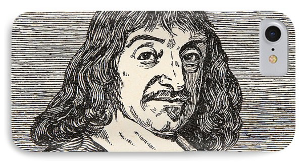Rene Descartes IPhone Case by French School