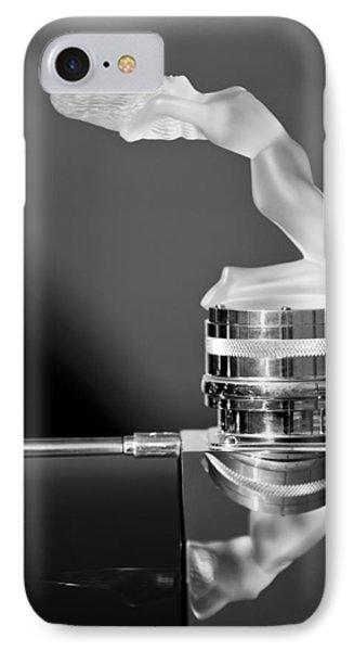 Rene Lalique - Chrysis - 1937 Rolls-royce Phantom IIi Aero Coupe Hood Ornament IPhone Case