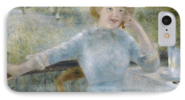Renior Woman Seated, 1879 IPhone Case by Granger
