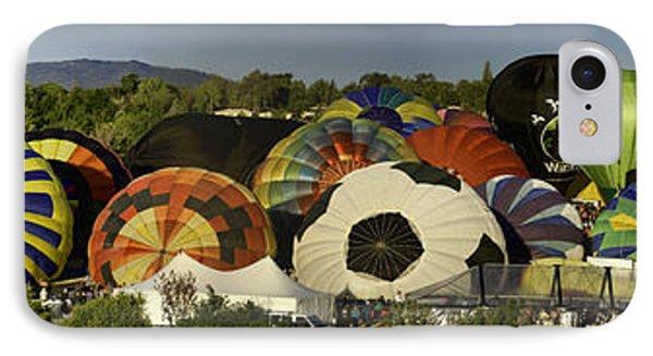 Reno Balloon Race Panorama IPhone Case