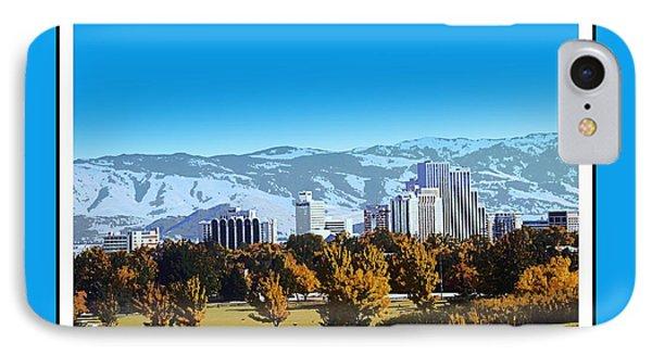 Reno Skyline From Rancho San Rafael IPhone Case by Bobbee Rickard