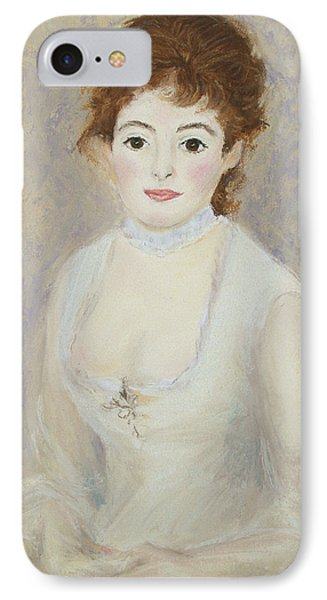 Renoir's Lady IPhone Case by Marna Edwards Flavell