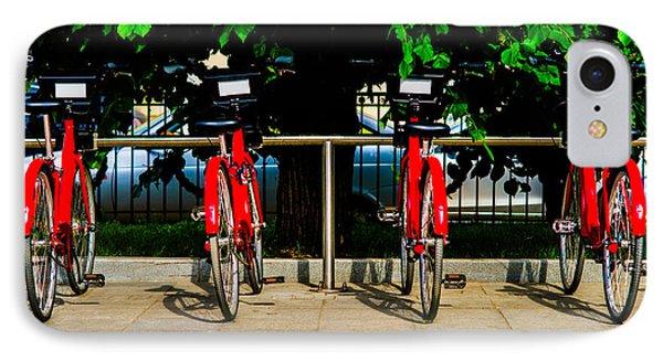 Rent-a-bike - Featured 3 Phone Case by Alexander Senin