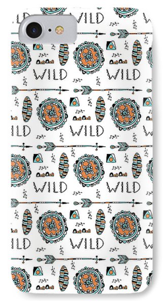 Repeat Print - Wild IPhone Case