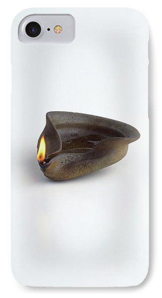 Replica Of Ancient Egyptian Oil Lamp IPhone Case by Dorling Kindersley/uig