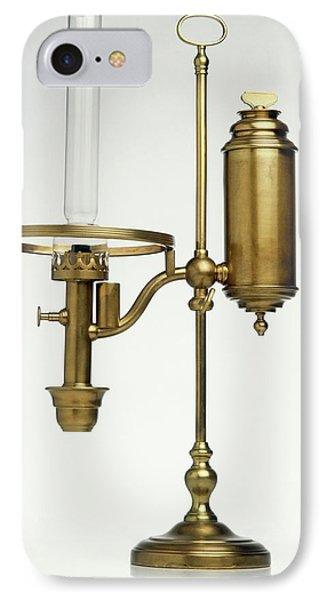 Replica Of Oil Lamp IPhone Case by Dorling Kindersley/uig