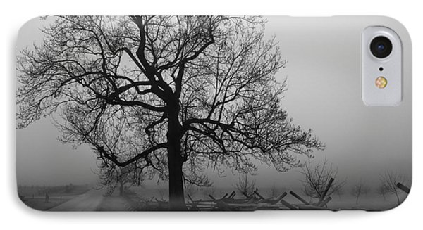 Repose In Mist Phone Case by David Rucker
