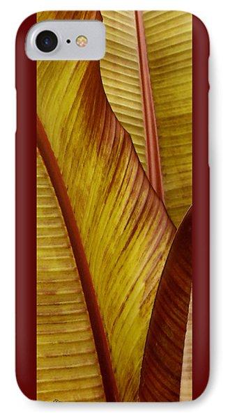 Repose - Leaf Phone Case by Ben and Raisa Gertsberg