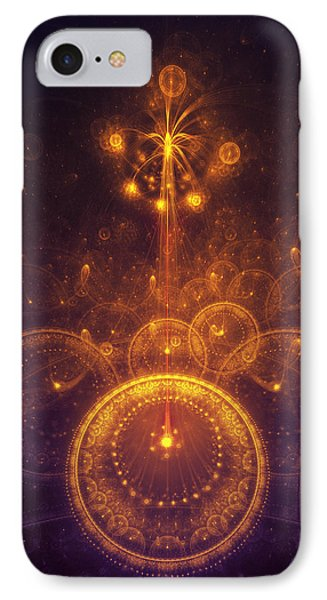 Representation Of Climax IPhone Case by Cameron Gray