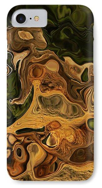Reptilian Ball IPhone Case by Daniele Smith