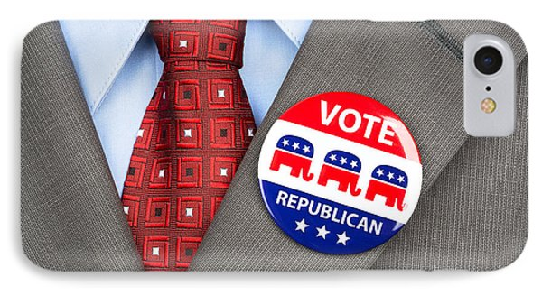 Republican Vote Badge IPhone Case