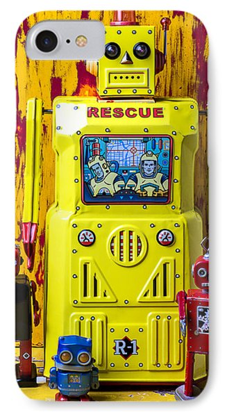 Rescue Robot Phone Case by Garry Gay