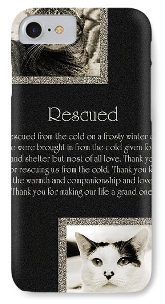 Rescued Phone Case by Andee Design