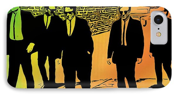 Reservoir Dogs IPhone Case by Dan Sproul