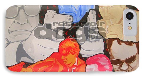 Reservoir Dogs Tribute Phone Case by Gary Niles