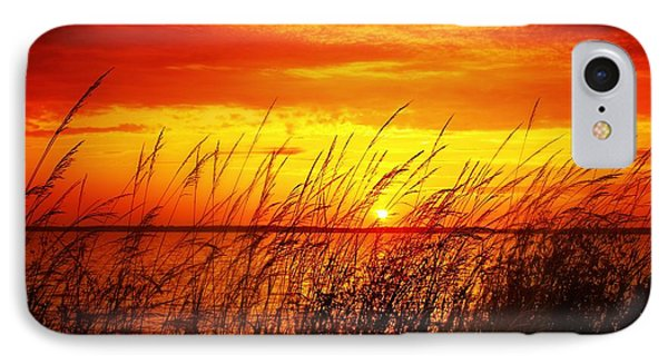 IPhone Case featuring the photograph Reservoir Sunset 3 by Jim Albritton