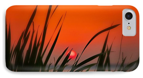IPhone Case featuring the photograph Reservoir Sunset by Jim Albritton