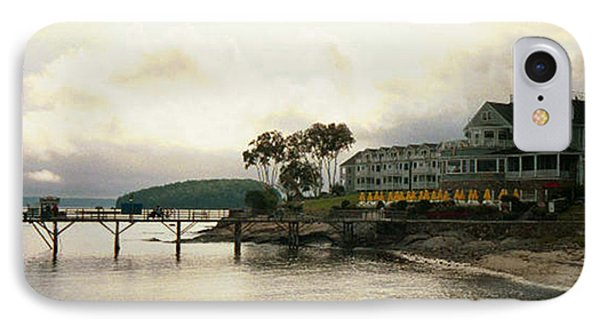 IPhone Case featuring the photograph Resort In Bar Harbor by Judith Morris