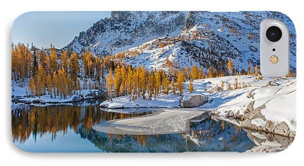 Resplendent Alpine Autumn Phone Case by Mike Reid