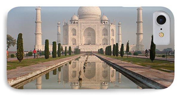 Resplendent Taj Mahal IPhone Case by Mike Reid
