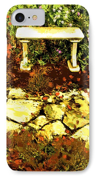 IPhone Case featuring the photograph Rest Amongst The Flowers by Dale Stillman