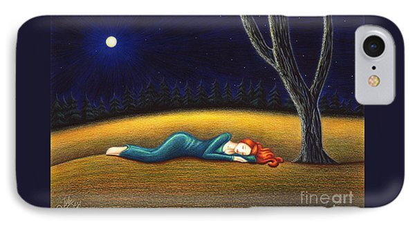 Rest For A Weary Heart IPhone Case by Danielle R T Haney