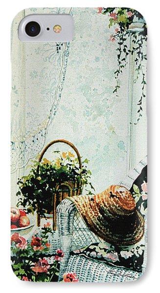 Rest From Garden Chores Phone Case by Hanne Lore Koehler