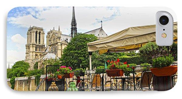 Restaurant On Seine IPhone Case by Elena Elisseeva