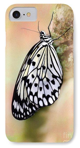 Restful Butterfly Phone Case by Sabrina L Ryan