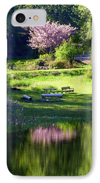 Restful Place Phone Case by Lori Seaman