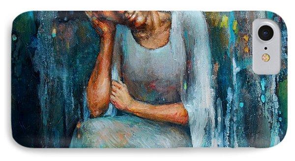 Resting Angel Phone Case by Michal Kwarciak