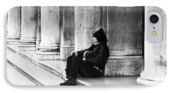 Resting At St. Mark's Square Phone Case by John Rizzuto