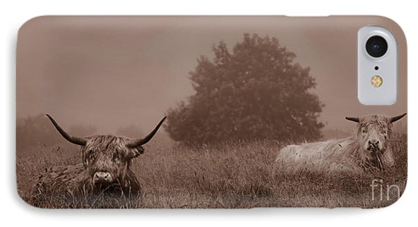 Resting Beasts Phone Case by Linsey Williams