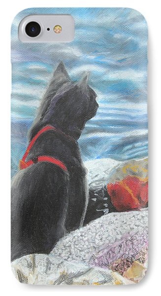 Resting By The Shore Phone Case by Jeanne Fischer