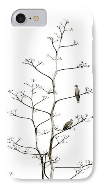 Resting Doves IPhone Case