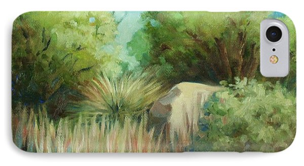 Resting Place IPhone Case by Peggy Wrobleski