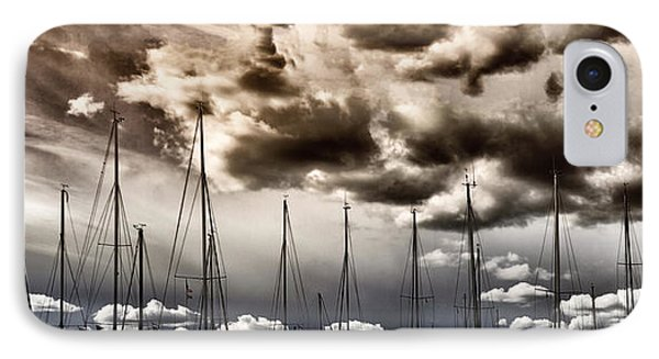 Resting Sailboats IPhone Case by Stelios Kleanthous