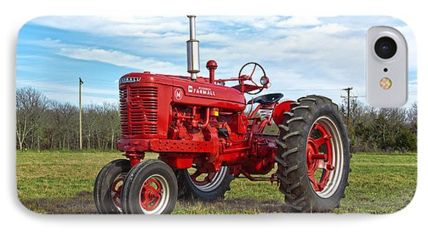 Restored Farmall Tractor IPhone Case