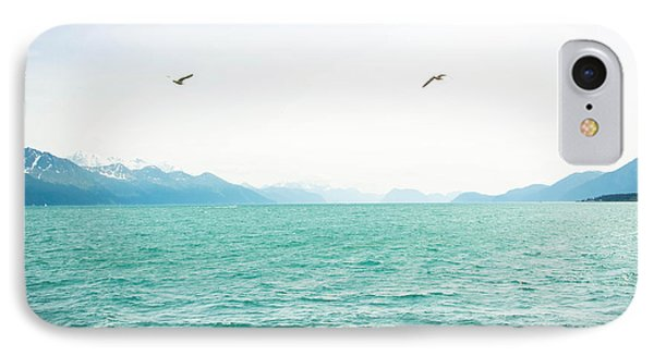 Resurrection Bay With Sea Gulls IPhone Case
