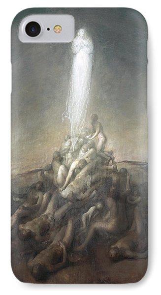 Resurrection IPhone Case by Odd Nerdrum