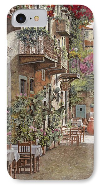 Rethimnon-crete-greece Phone Case by Guido Borelli