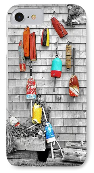 Retired Buoys IPhone Case by Jean Goodwin Brooks