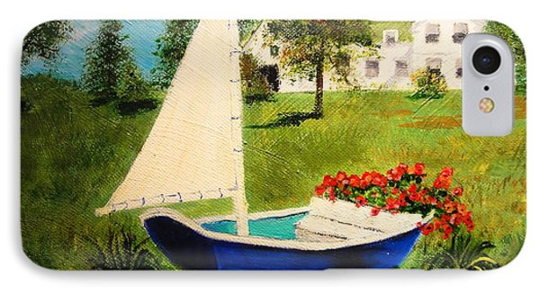 Retired In Cape Cod IPhone Case by Diane Arlitt