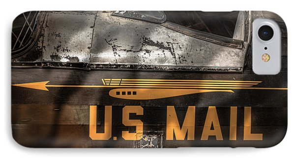 Retired Mail Carrier - Pitcairn P-6 Mailwing 1929 IPhone Case by Gary Heller